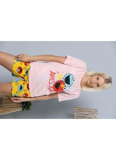 Strawberry Pijama Takım Pembe